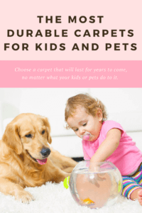 The most durable carpets for kids and pets